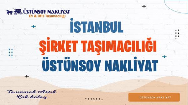 istanbul şirket taşımacılığı nakliyat ve taşımacılık