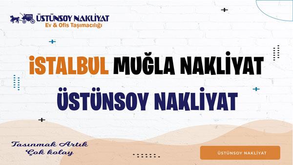 istanbul muğla evden eve nakliyat ve taşımacılık