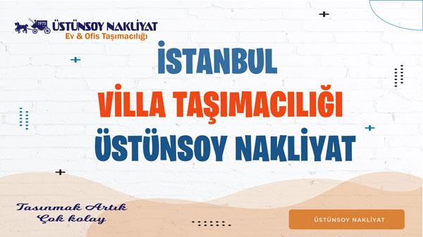 istanbul villa taşımacılığı nakliyat ve taşımacılık